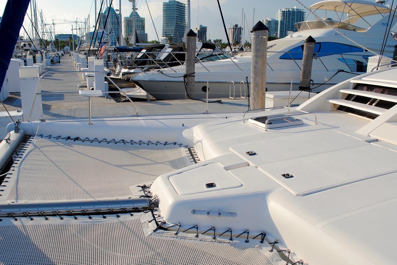 Trampolíny na lodi