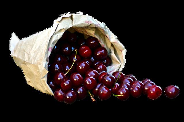třešně v pytlíku