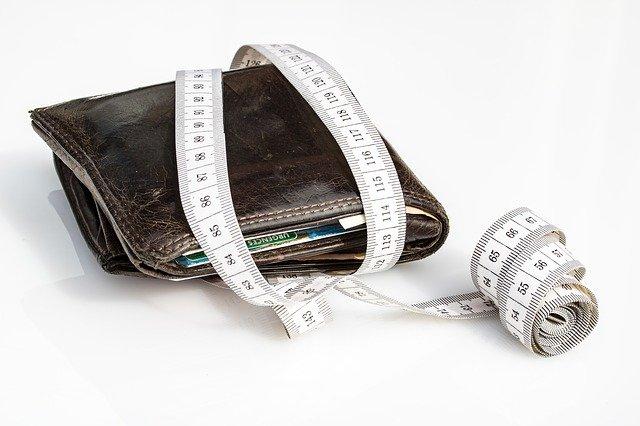 metr na peněžence